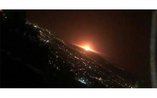 فیلم: اولین تصاویر از محل انفجار شب گذشته مخازن گاز در پارچین