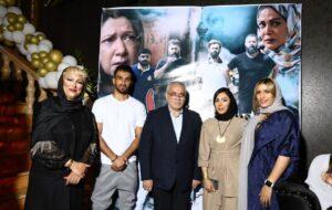 افتتاحیه فیلم سینمایی بی پی ام بند با حضور هنرمندان و ورزشکاران برگزار شد