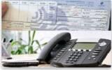 هزینه کارکرد تلفن ثابت ماهانه محاسبه می شود
