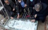 حضور وزیر صنعت، معدن و تجارت در مراسم سالگرد شهادت سپهبد حاج قاسم سلیمانی در کرمان