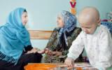 نقش مهم داوطلبان در حمایت از کودک مبتلا به سرطان