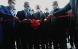 افتتاح خط تولید پارچه پردهای در شهرک صنعتی کاسپین