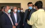 بازدید وزیر صمت از بیمارستان جانبازان نیایش