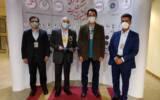 تقدیر از مدیرعامل شرکت فولاد خوزستان