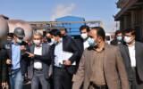 بازدید وزیر صمت از مجتمع ذوب آهن پاسارگاد