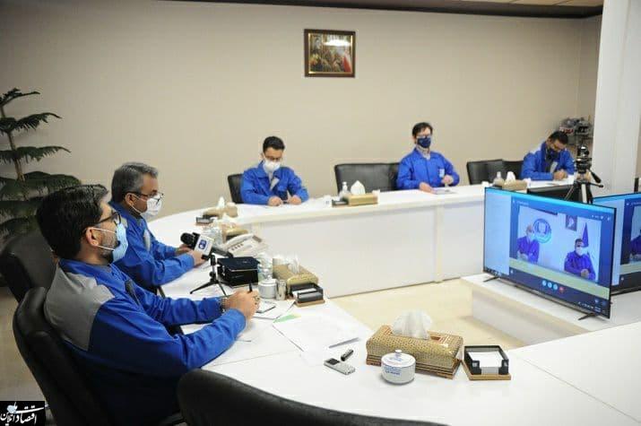 مدیرعامل گروه صنعتی ایرانخودرو به مناسبت روز کارگر، با جمعی از کارگران این گروه دیدار کرد
